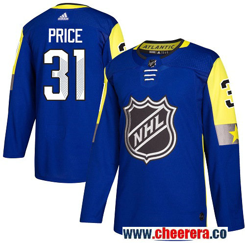 #31 Carey Price Royal Blue Adidas NHL Men's Jersey Montreal Canadiens 2018 All-Star Atlantic Division