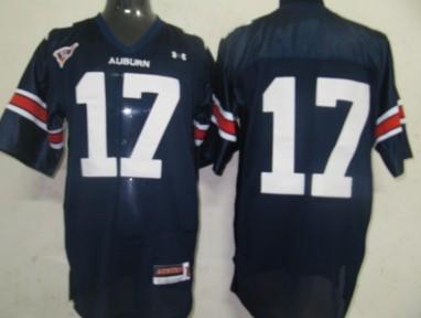 Auburn Tigers #17 Josh Bynes Navy Blue Jersey