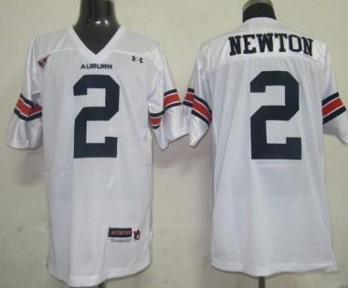 Auburn Tigers #2 Newton White Jersey