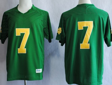 Notre Dame Fighting Irish #7 Stephon Tuitt 2013 Green Jersey