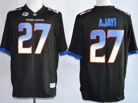 Boise State Broncos #27 Jay Ajayi 2013 Black Jersey