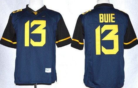 West Virginia Mountaineers #13 Andrew Buie 2013 Navy Blue Limited Jersey