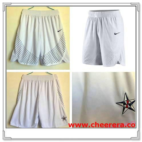 2016 Olympics Team USA White Swingman Basketball Men's Short Pants