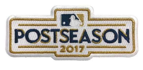 2017 MLB Postseason Patch
