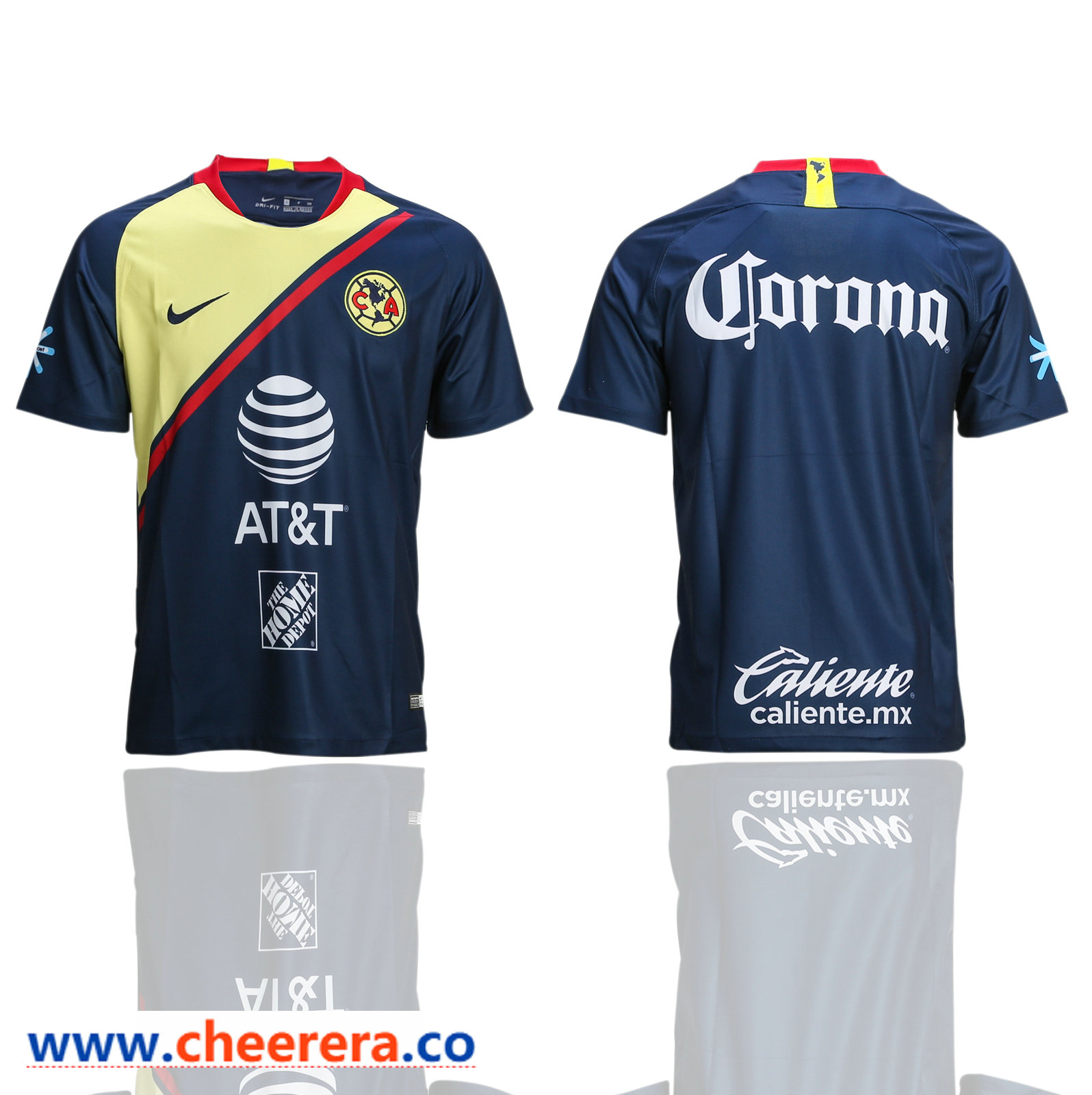 2018-19 Club America Away Thailand Soccer Jersey
