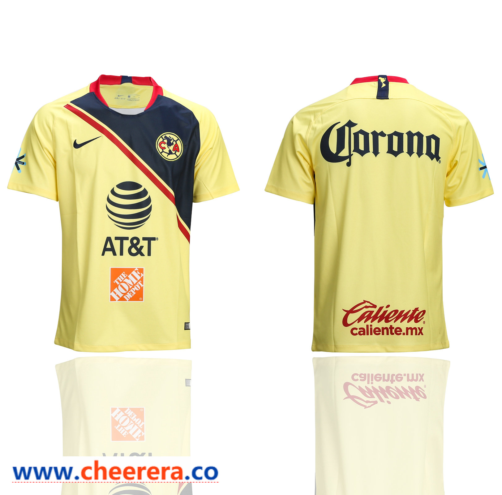 2018-19 Club America Home Thailand Soccer Jersey