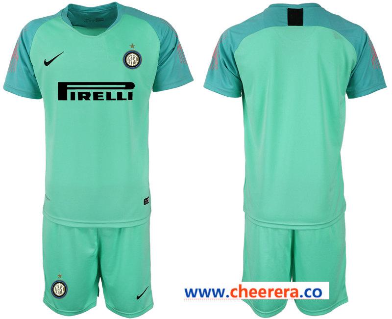 2018-19 Inter Milan Green Goalkeeper Soccer Jersey
