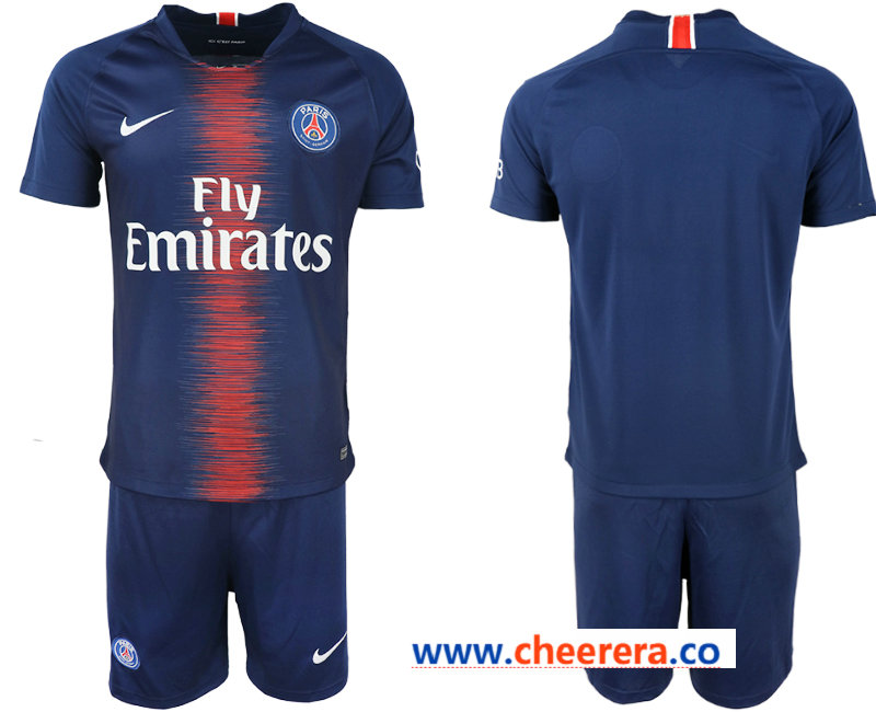 2018-19 Pari Saint-Germain Home Soccer Jersey