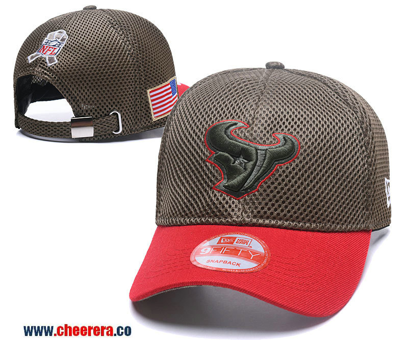 2018 New NFL Houston Texans Adjustable SnapBack Hat in Amy Green