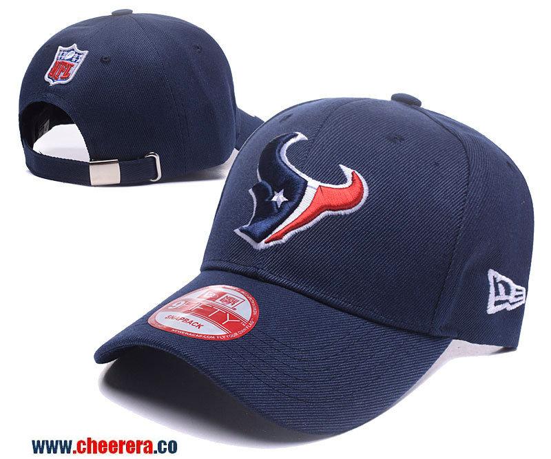 2018 New NFL Houston Texans Adjustable SnapBack Hat in Blue