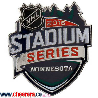 Chicago Blackhawks vs. Minnesota Wild 2016 Stadium Series Dueling Logo