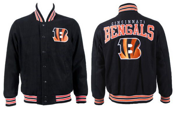 Men's Cincinnati Bengals Black Jacket FY