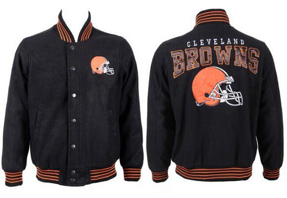 Men's Cleveland Browns Black Jacket FY