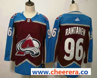 Men's Colorado Avalanche #96 Mikko Rantanen Red 2017-2018 Hockey Stitched NHL Jersey