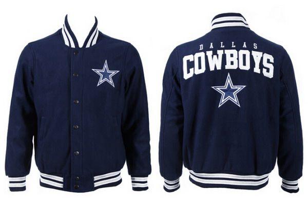 Men's Dallas Cowboys Navy Jacket FY