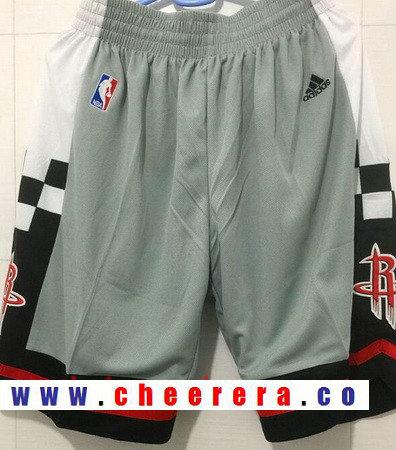 Men's Houston Rockets Gray Basketball Shorts