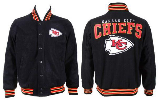 Men's Kansas City Chiefs Black Jacket FY