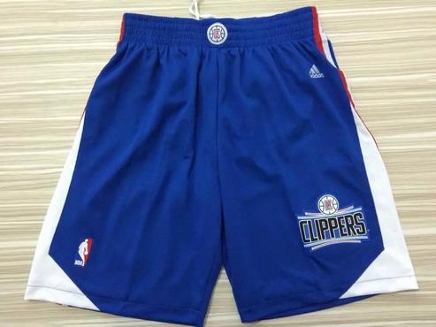 Men's Los Angeles Clippers 2015-16 Blue Short