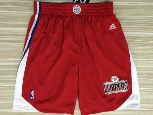 Men's Los Angeles Clippers 2015-16 Red Short