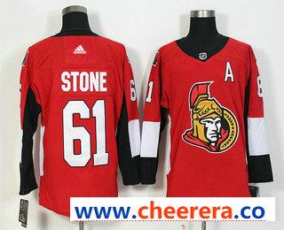 Men's Ottawa Senators #65 Erik Karlsson Red Home 2017-2018 Hockey Stitched NHL Jersey