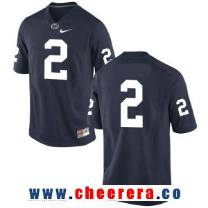 Men's Penn State Nittany Lions #2 Tommy Stevens No Name Navy Blue College Football Stitched Nike NCAA Jersey