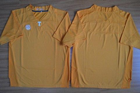 Men's Tennessee Volunteers Blank Orange 2015 College Football Nike Jersey