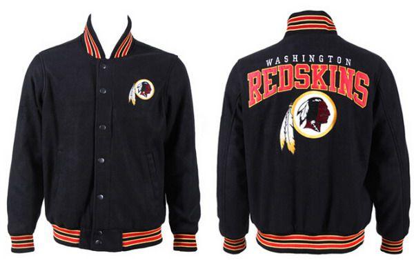 Men's Washington Redskins Black Jacket FY