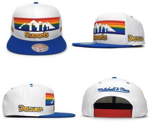 NBA Denver Nuggets Adjustable Snapback Cap SJ3898