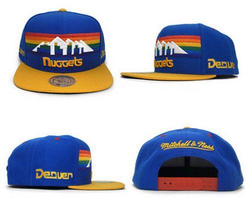 NBA Denver Nuggets Adjustable Snapback Cap SJ38986