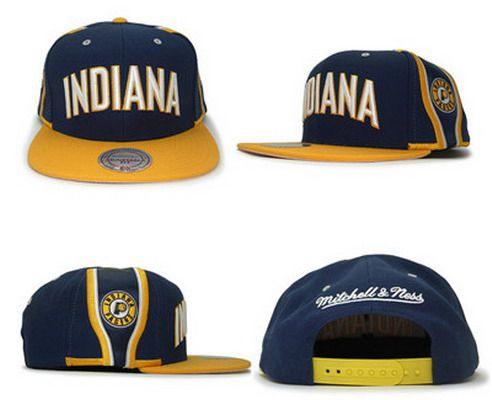 NBA Indiana Pacers Adjustable Snapback Cap SJ3897