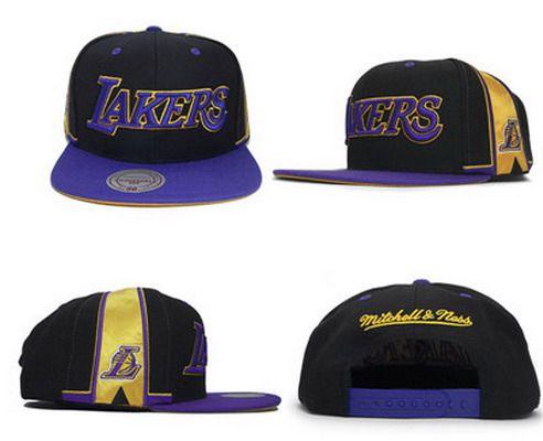 NBA Los Angeles Lakers Adjustable Snapback Cap SJ38984