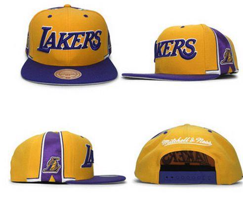 NBA Los Angeles Lakers Adjustable Snapback Cap SJ38985