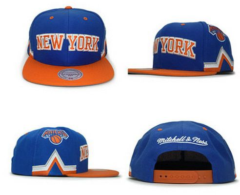 NBA New York Knicks Adjustable Snapback Cap SJ38981