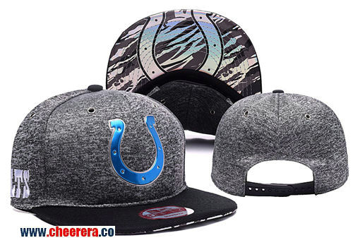 NFL Indianapolis Colts Adjustable Peaked Hat in Gary