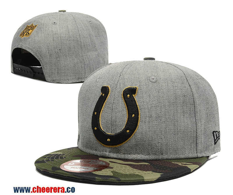 NFL Indianapolis Colts Adjustable SnapBack Hat in Gary
