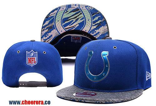NFL Indianapolis Colts Blue Adjustable Peaked Hat