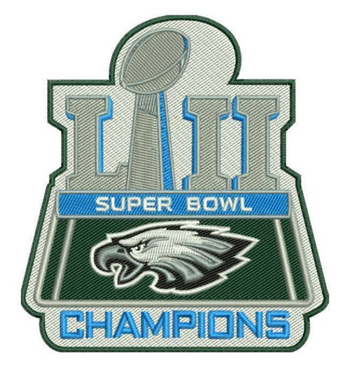 2018 NFL Super Bowl Champions Philadelphia Eagles Patch