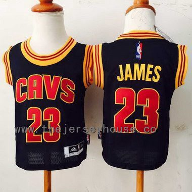 Toddler Cleveland Cavaliers #23 LeBron James Navy Blue Jersey