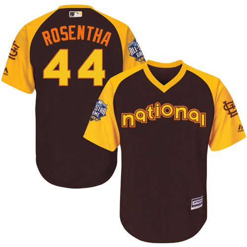 Trevor Rosenthal Brown 2016 MLB All-Star Jersey - Men's National League St. Louis Cardinals #44 Cool Base Game Collection