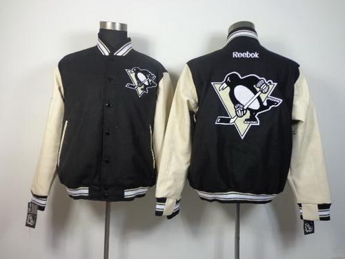 Pittsburgh Penguins Blank Black Jacket