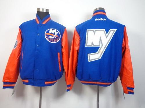 New York Islanders Blank Light Blue Jacket